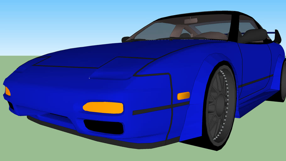 Tuned nissan 240SX widebody