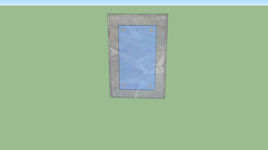 Miroir de salle de bain 40x60ht