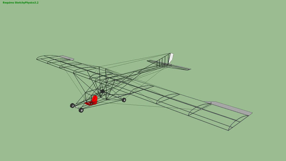 Roberts UR1 Ultralight glider