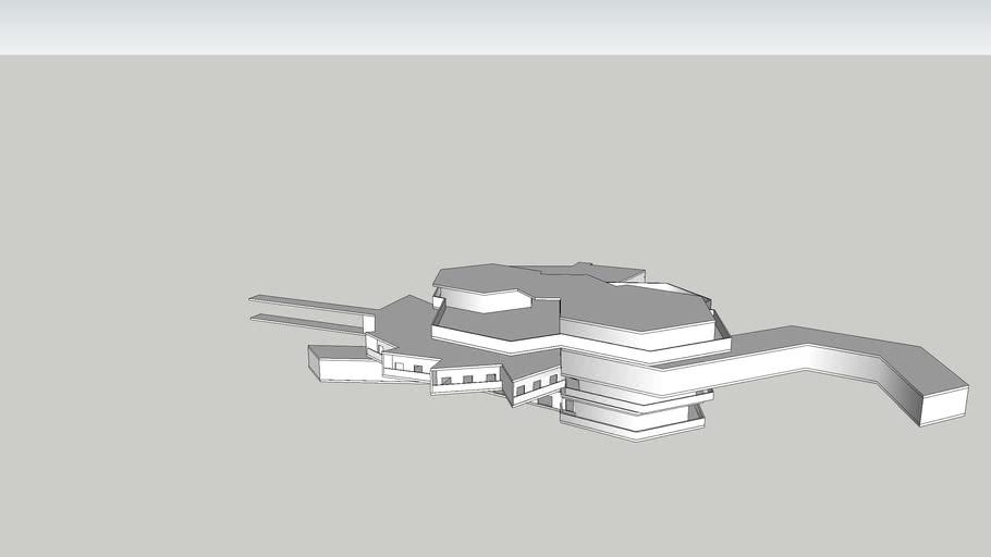 Arch1101 EXP#3- Draft Sketchup Model