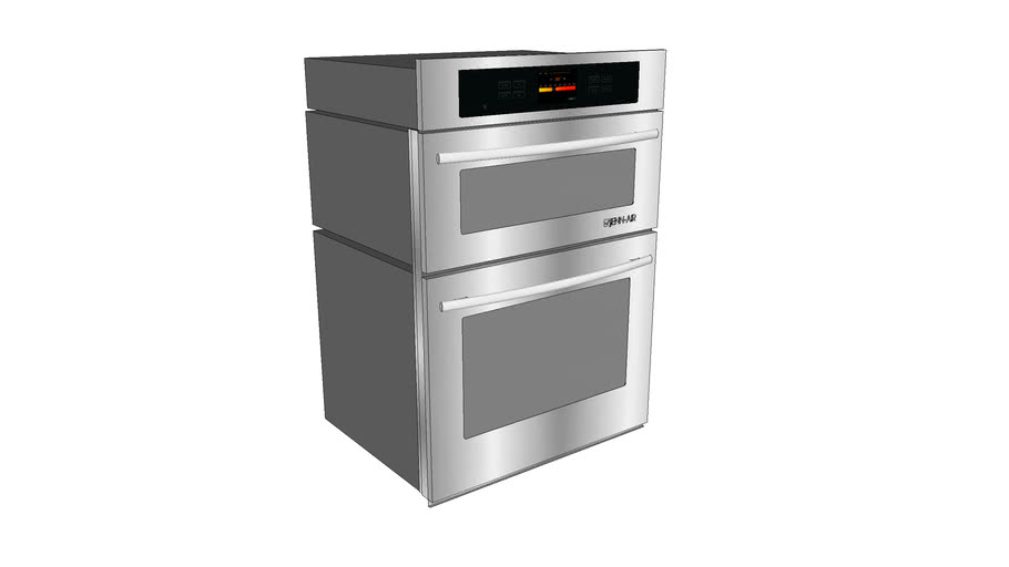 """JMW2430WS 30"""" Combination Microwave/Wall Oven with MultiMode® Convectio"""