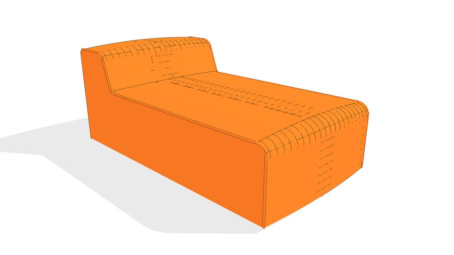 Nexus Chaise Sofa by Gus* Modern