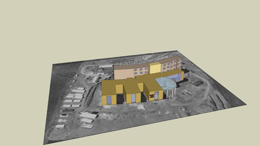 Yenimahalle Devlet Hastanesi 3D