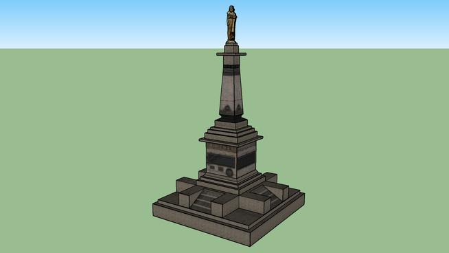 Monumento à Tiradentes - Ouro Preto