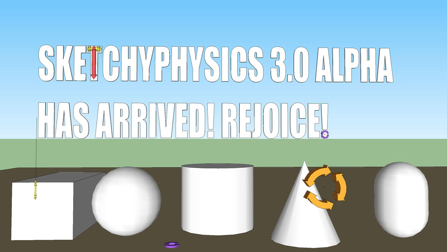 SKETCHYPHYSICS 3.0 ALPHA HAS ARRIVED