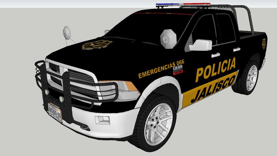 patrulla de la policia del estado de jalisco fuerza unica