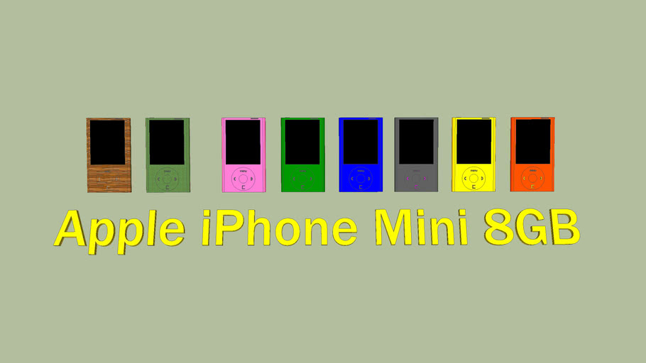 Apple iPhone Mini 8GB Kolekce
