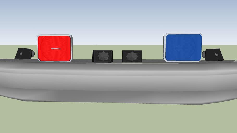 defensa de la ford f350 al f250 whelen