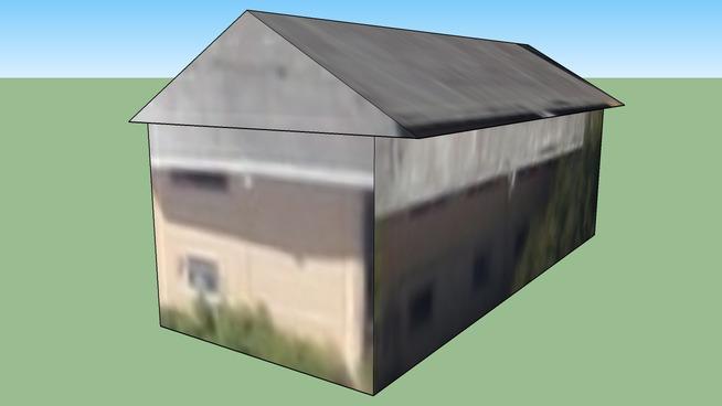 里士满加利福尼亚州 94801美国的建筑模型