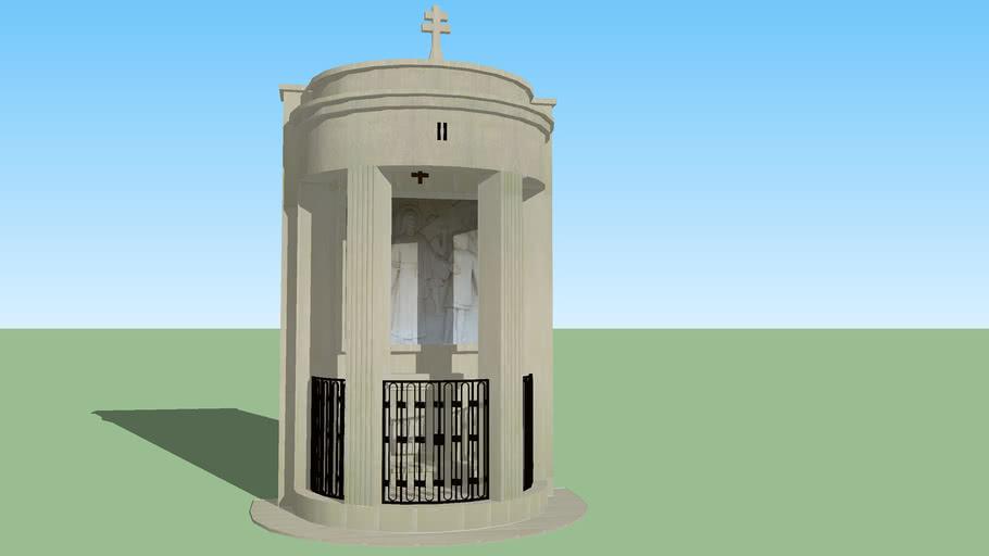 Modelo 3D do Monumento da 2ª Estação da Via Sacra dos Valinhos - Fátima
