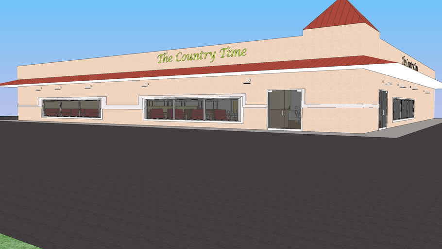 Country Time Buffet- Fully Furnished