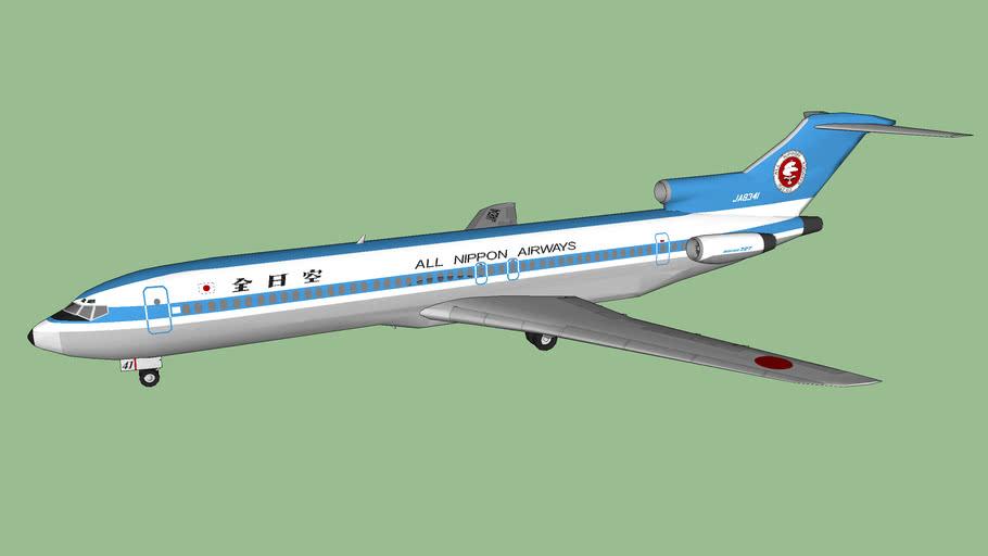 全日本空輸 - All Nippon Airways 727-281 (1981)