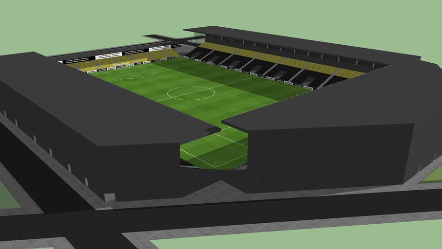 14,000 capacity Stadium