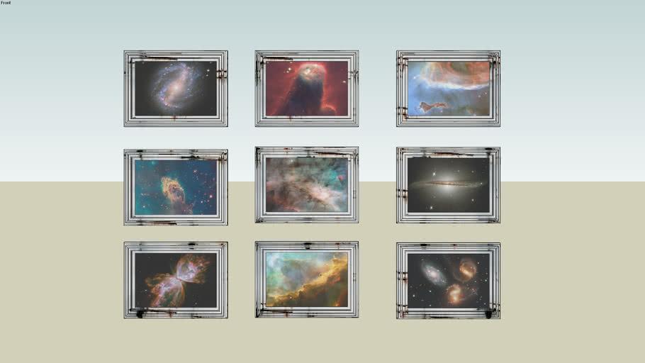 Cuadros fotografias del cosmo