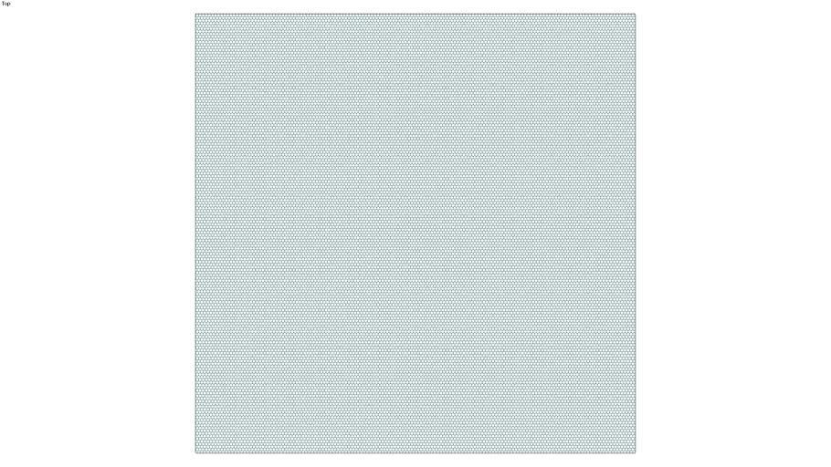 ROCKIT3D | Mesh Hexagon RAL5021