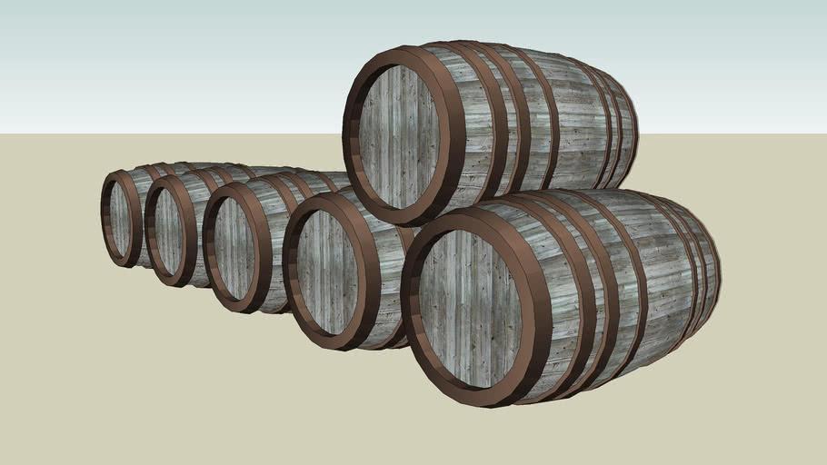 Castle Ward: Barrel Stack