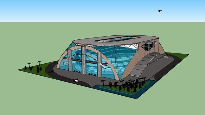 Estadio en Mexicali