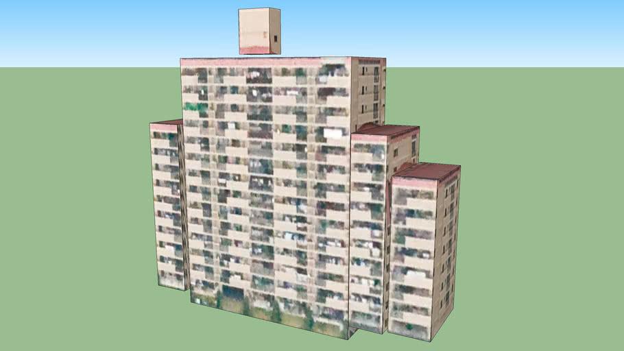 Building in Sendai, Miyagi Prefecture, Japan
