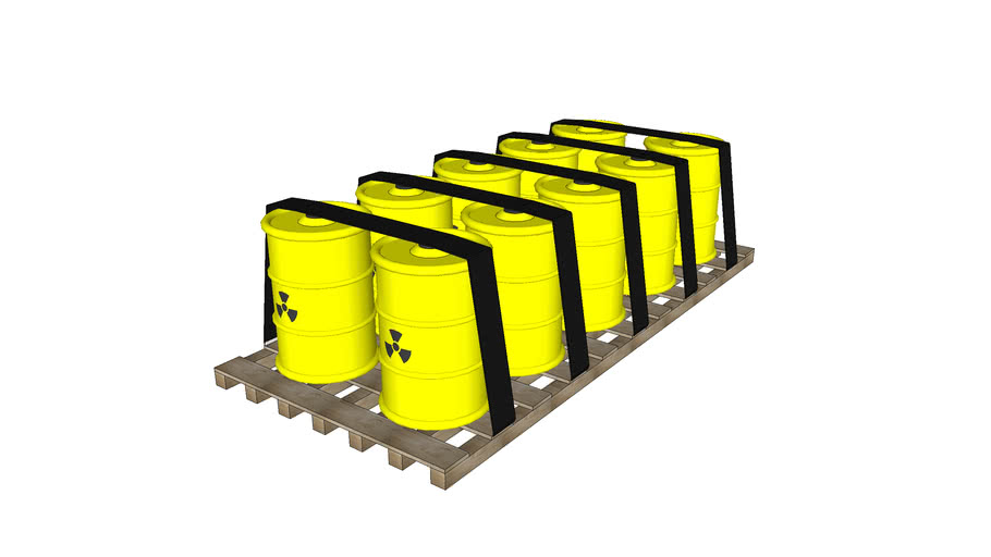 Nuclear Waste on the support