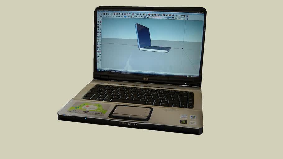 Notebook HP Pavilion dv6000
