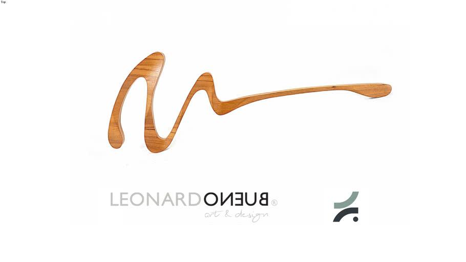 Escultura Risk - Leonardo Bueno