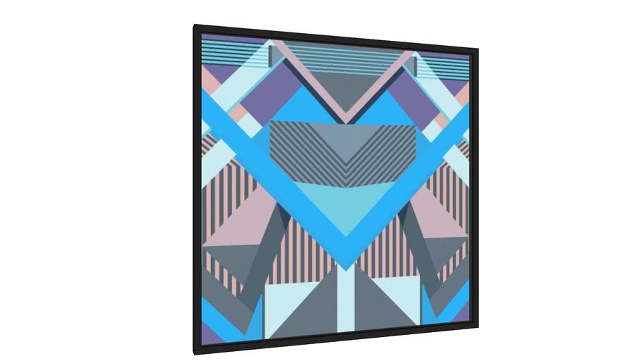 Quadro Geométrico F12 - Galeria9, por Farago