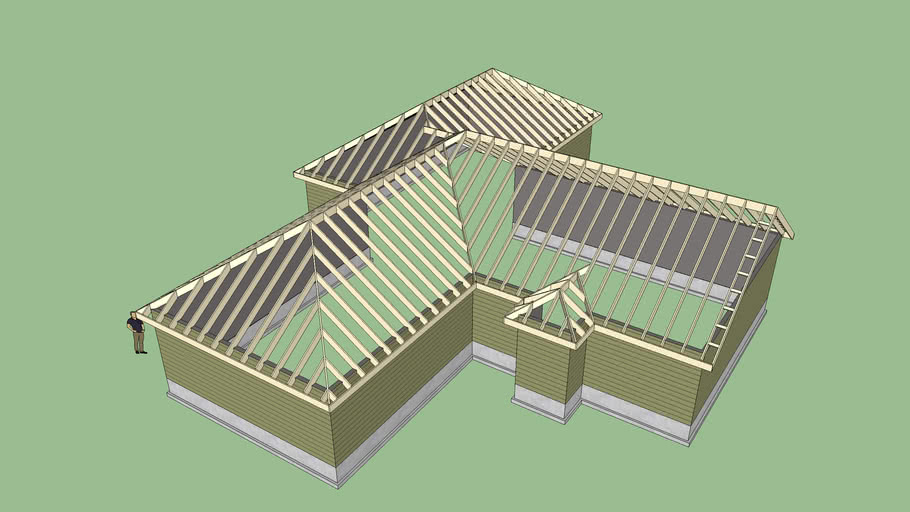 Complex Roof 3 3d Warehouse