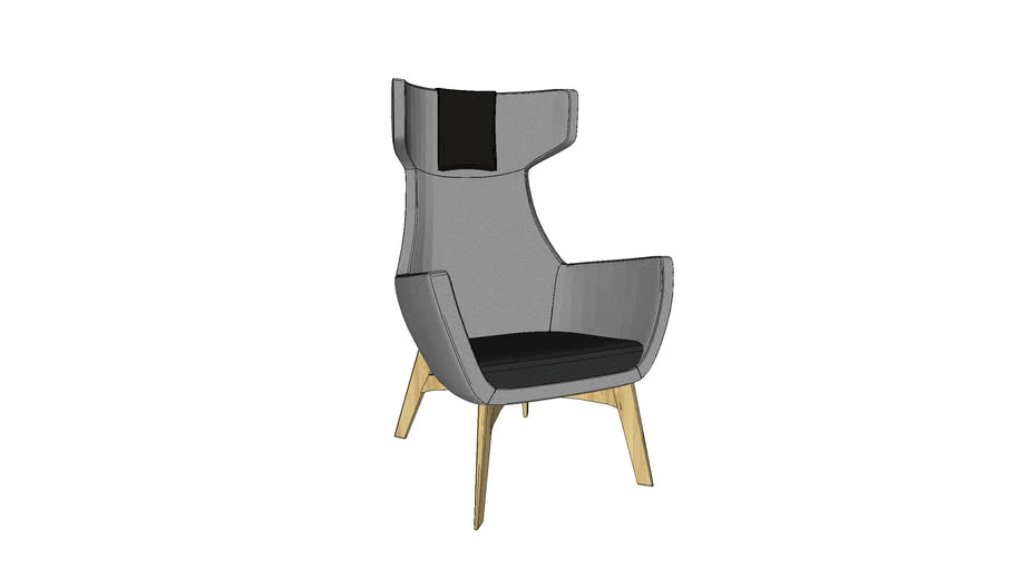 Lounge chair by Bejot - UMM W 703