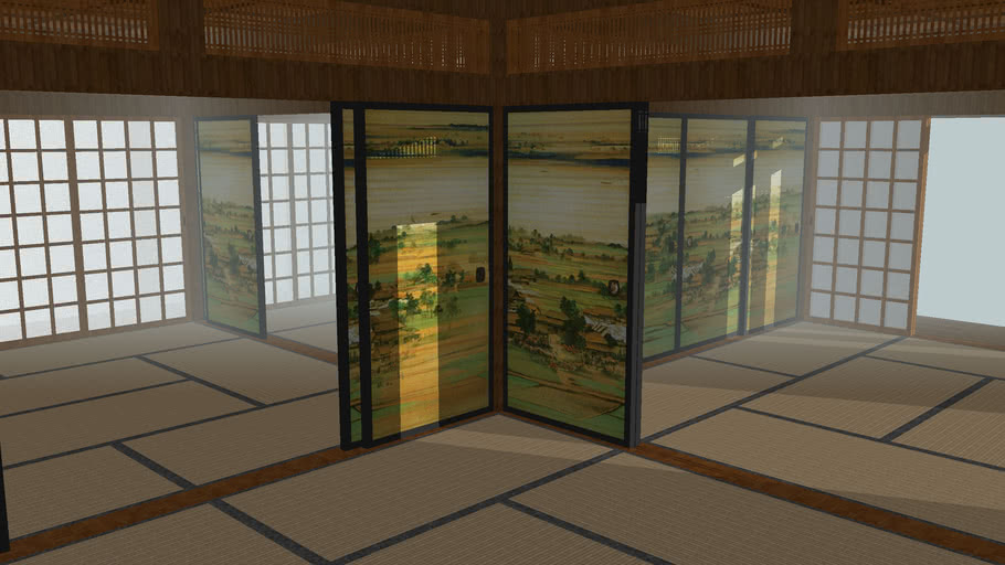 Japanese Traditional Building 2 / 伝統的な日本の建物2