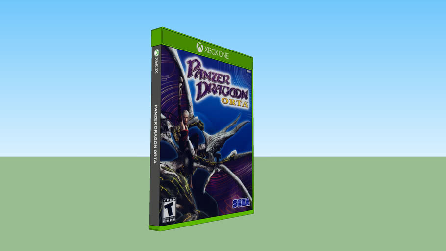 Panzer Dragoon Orta Xbox compatible with Xbox One game case