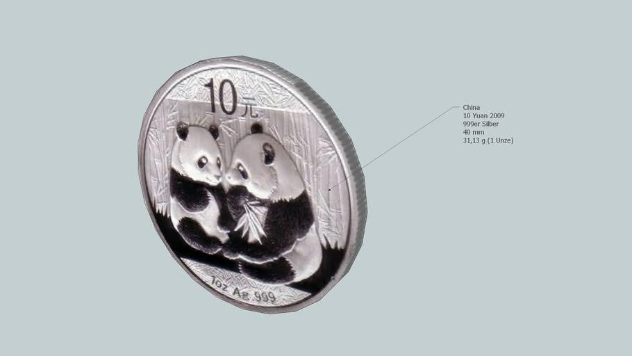Coin - 10 Yuan, China, 2009