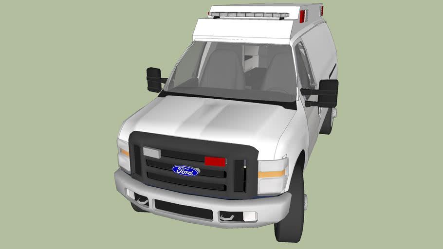 Ambulance Type 2 model 2012 ford f350
