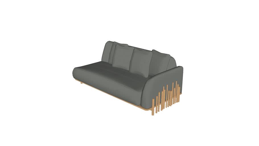 Sofa Bambu 2,00m 1BR CERCA