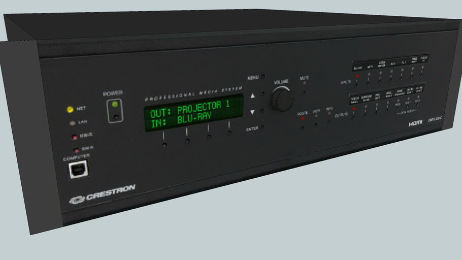 Crestron DMPS-300-C