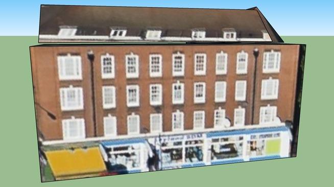 Barnes House in Camden, Greater London, UK