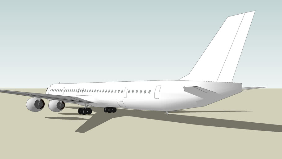 McDonnell Douglas DC-8-70 [BLANK]