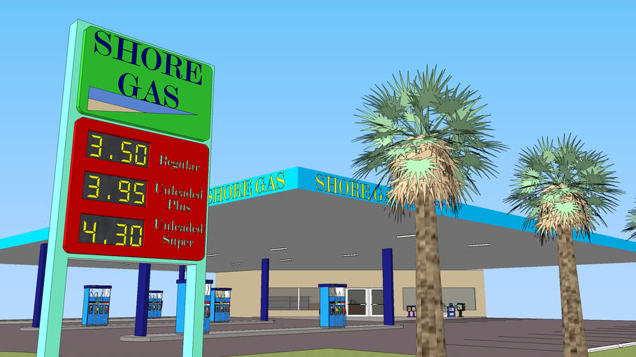 Shore Gas Station- Fully Furnished