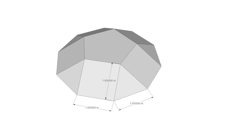 Fünfeck-Kuppel