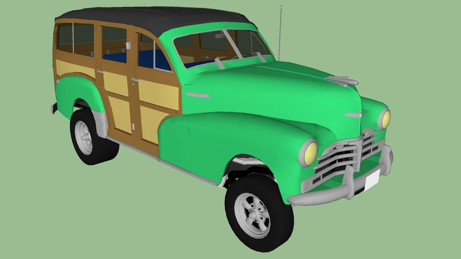 1948 chevy woodie gasser