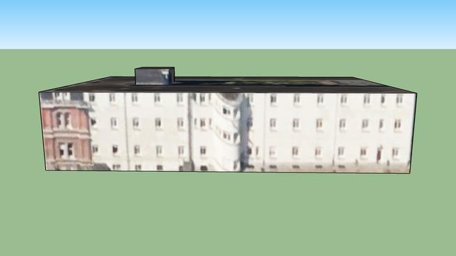 1050, Belçika adresindeki yapı