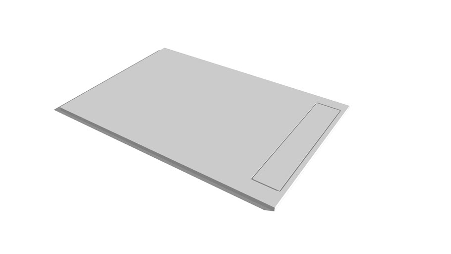 Shower tray QUARSBLAU. Mod. MINIMALIST G2
