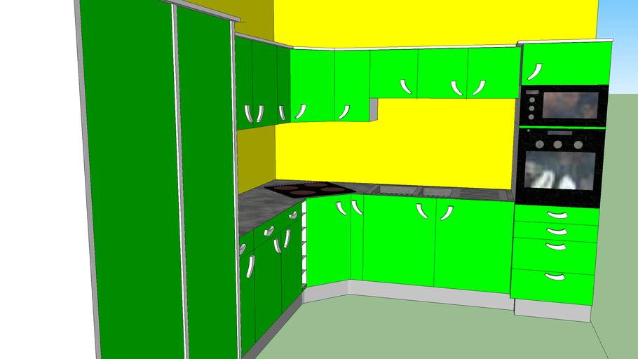 Plan Cuisine 3d 3d Warehouse