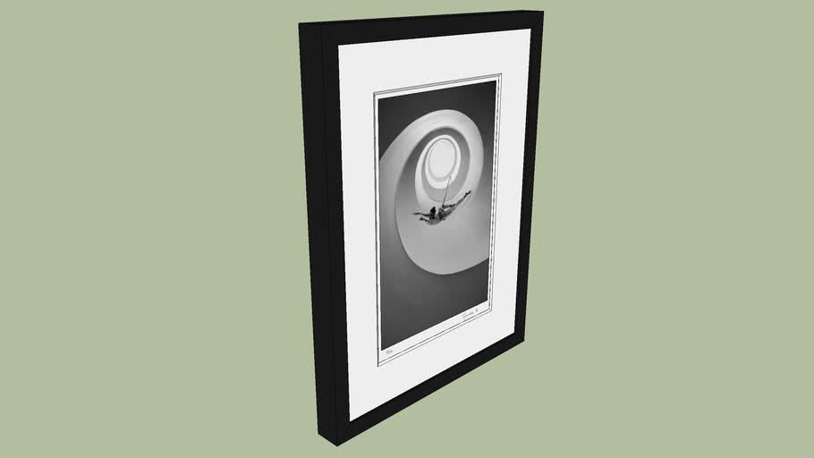"BRODZIAK ""Loop #01"" 36x47cm - Black&White, Photography, Image, Picture"