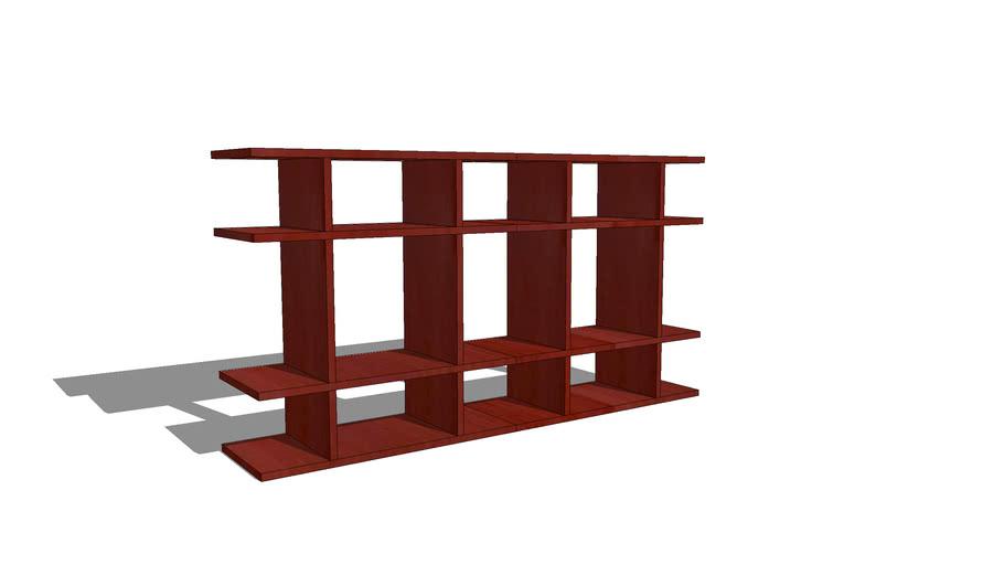 4' Wide Classic Bath Shelf by Smart Furniture(0204f001)