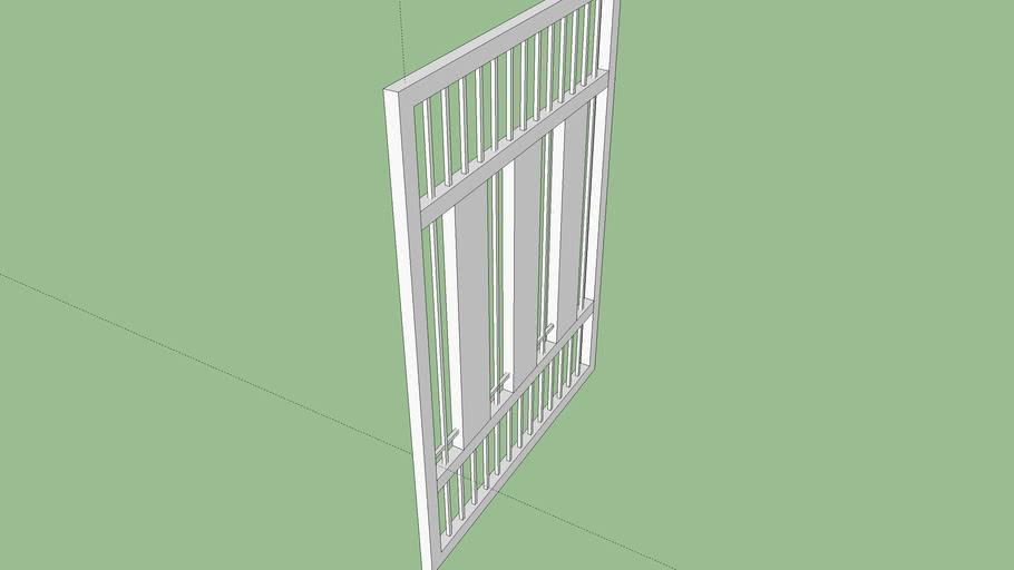 Rose Gate 1 of 3 panels