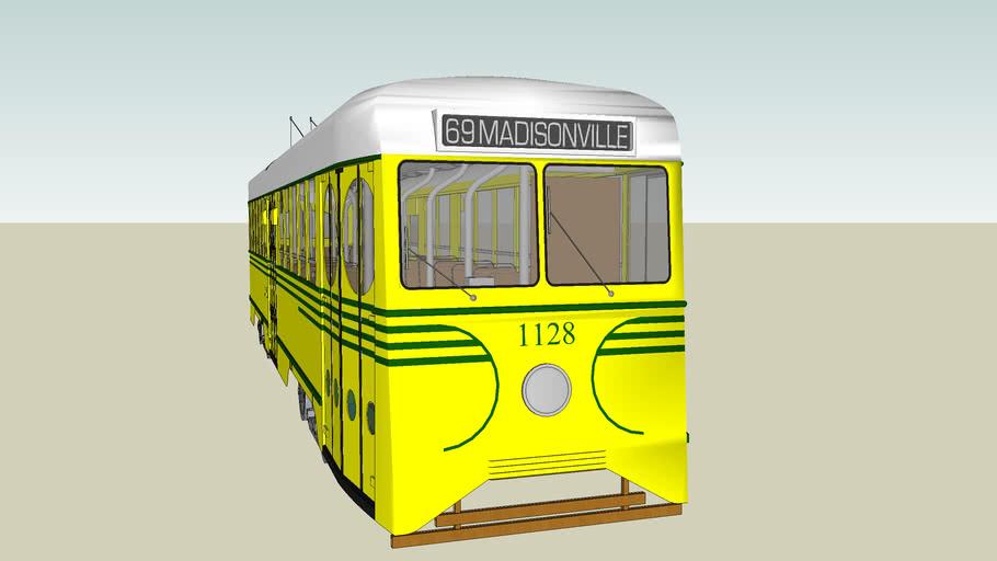 Cincinnati Street Railway 1939 Brilliner #1128