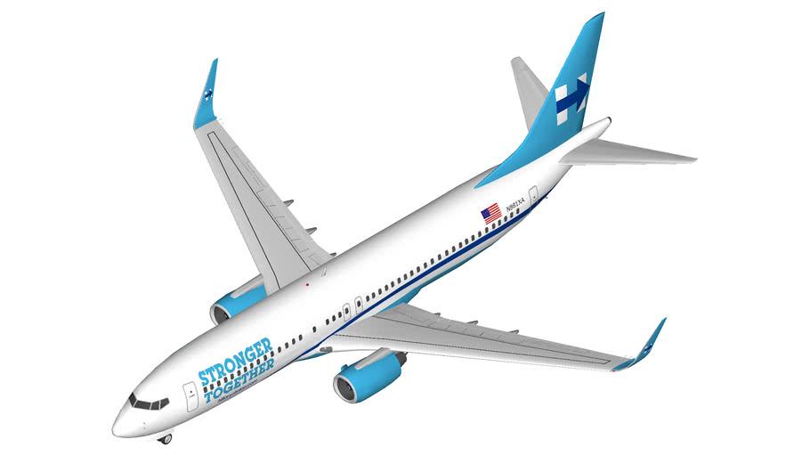 Hillary Boeing 737