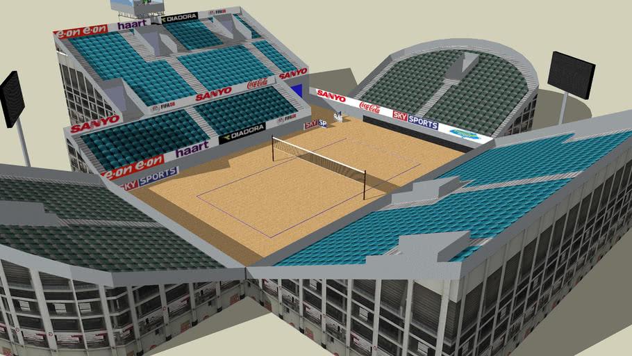 Beachvolleyball stadion