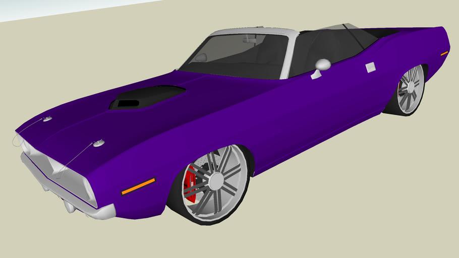Modified Plymouth Hemi Cuda Convertible