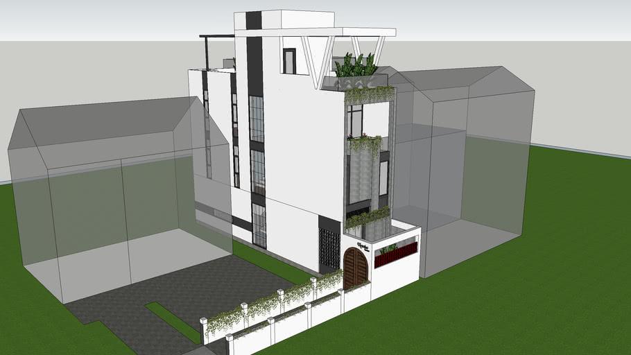 Nhà lô phố 4x15  Namhahouse, Longbien, Hanoi